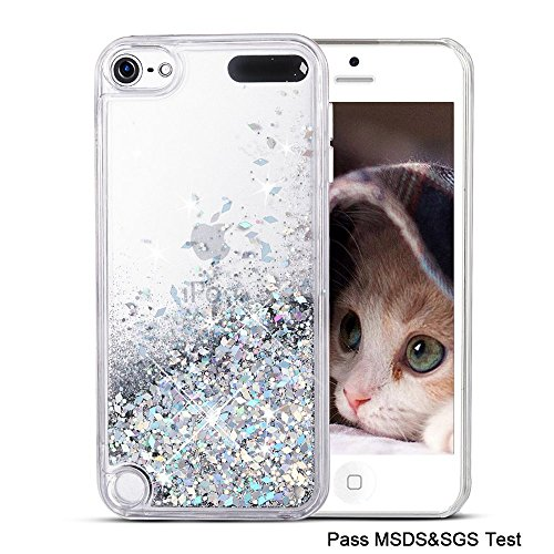 Maxdara iPod 5 Case, iPod 6 Case, Glitter Liquid Floating, used for sale  Delivered anywhere in USA