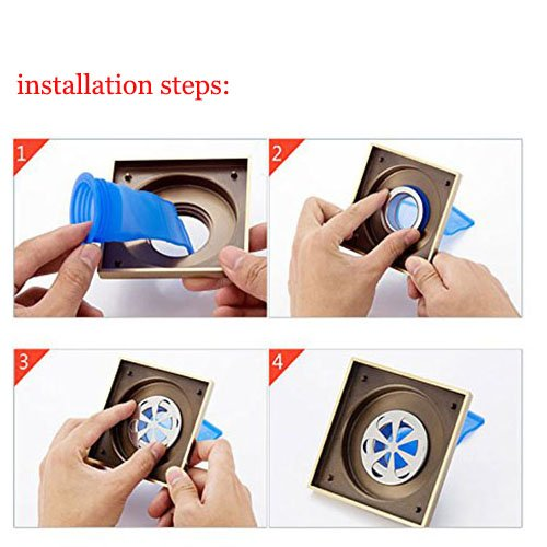 One Way Valve pour tuyaux tubes en Toilettes de salle de bain Joint de siphon de sol r/ésistant /à odeur et Bugs 3/Pcs vidange Clapet anti-retour