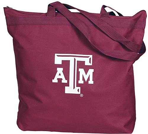 NCAA Texas A&M Aggies Zippered Tote Bag ()