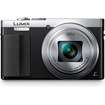 PANASONIC LUMIX ZS50 Camera, 30X LEICA DC Vario-ELMAR Lens, 12.1 Megapixels, High Sensitivity Sensor, Eye Viewfinder, DMC-ZS50S (USA SILVER)