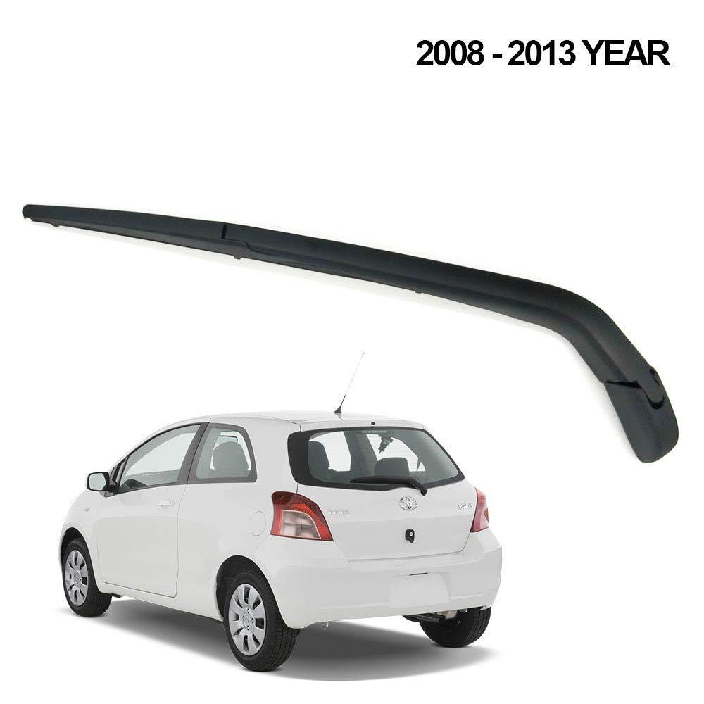 Arm Rear Wiper AUTVAN Rear Windsheild Back Wiper Arm and Blade Set For Toyota Yaris 2008-2013 New