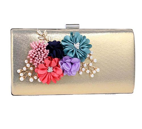 Handmade Gift Glitter Handbag Party Wedding Clubs Ladies For Flowers Bag Envelope Women Gold Shoulder Bridal Bag Prom Purse Evening Clutch fwSUxnXqY