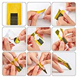 500Pcs Nail Extension Forms Guide Stickers UV Gel