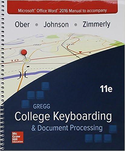 amazon com microsoft office word 2016 manual for gregg college