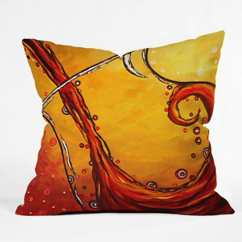 DENY Designs Madart Bubbling Pillow