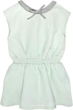 Bonnet a Pompon Pleated Dress for Girls, Size 8434135094016