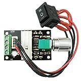 Yosoo 6V 12V 24V 3A DC Motor Speed Controller PWM Motor Speed Control Adjustable Reversible Switch Regulator 1203BB DC Motor Driver Reversing