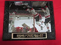 Philadelphia Flyers Broad Street Bullies Engraved Collector Plaque #1 w/8x10 Photo