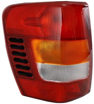 Jeep Grand cherokee Replacement Tail Light Assembly - Driver Side