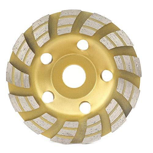 Diamantschleifscheibe, 125 * 22,2 mm hochfeste Diamant-Segment-Schleifscheiben-Trennscheibe für Betonmarmor-Granitstein