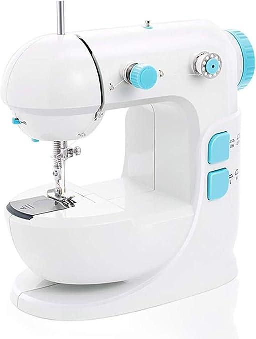 Yuaer Máquina de coser portátil Máquina de coser mini overlock ...