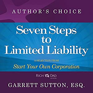 Seven Steps to Achieve Limited Liability Audiobook