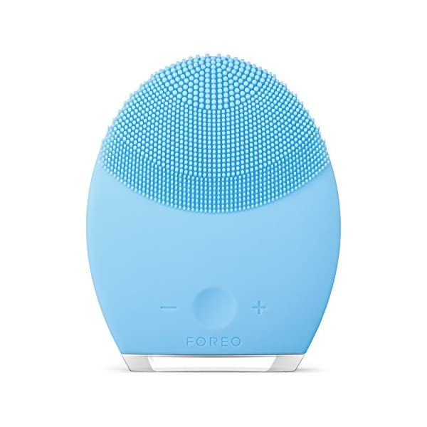 FOREO LUNA 2 Facial Cleansing Brush and Portable Skin Care device made with Ultra...