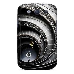 Roalmer Slim Fit Tpu Protector EjGcy580OIsDF Shock Absorbent Bumper Case For Galaxy S3