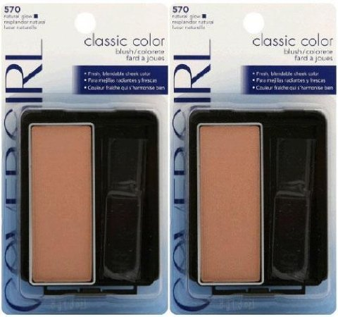 Covergirl Classic Color Blush #570 Natural Glow (Qty. Of 2) ()