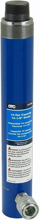 OTC Tools 4105A 10-1//8 10 Ton Straight Single-Acting Spring Return for RAM