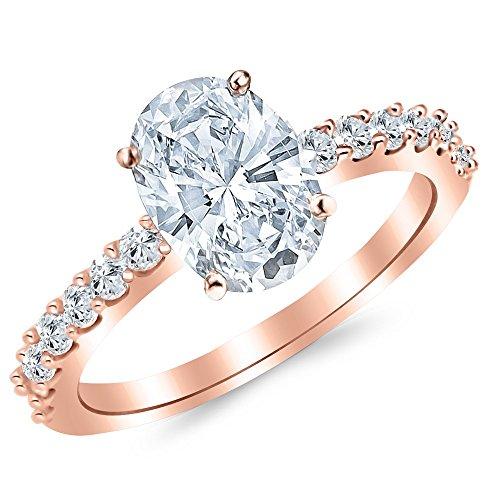 Oval Cut Diamonds - 9
