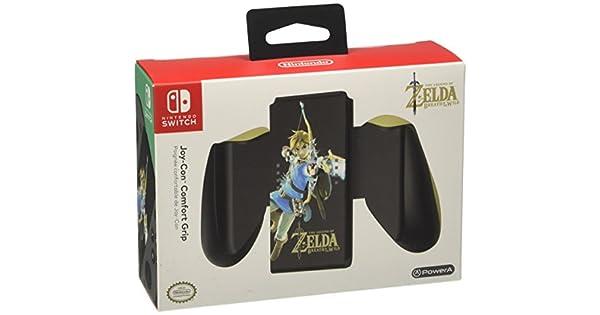 Power A Joy-Con - Comfort Grip Zelda BOTW (Nintendo Switch ...