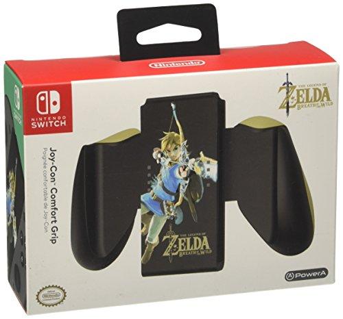 PowerA Joy-Con Comfort Grip for Nintendo Switch - Zelda: Breath of the Wild