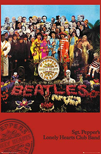 Trends International Beatles-SGT. Pepper