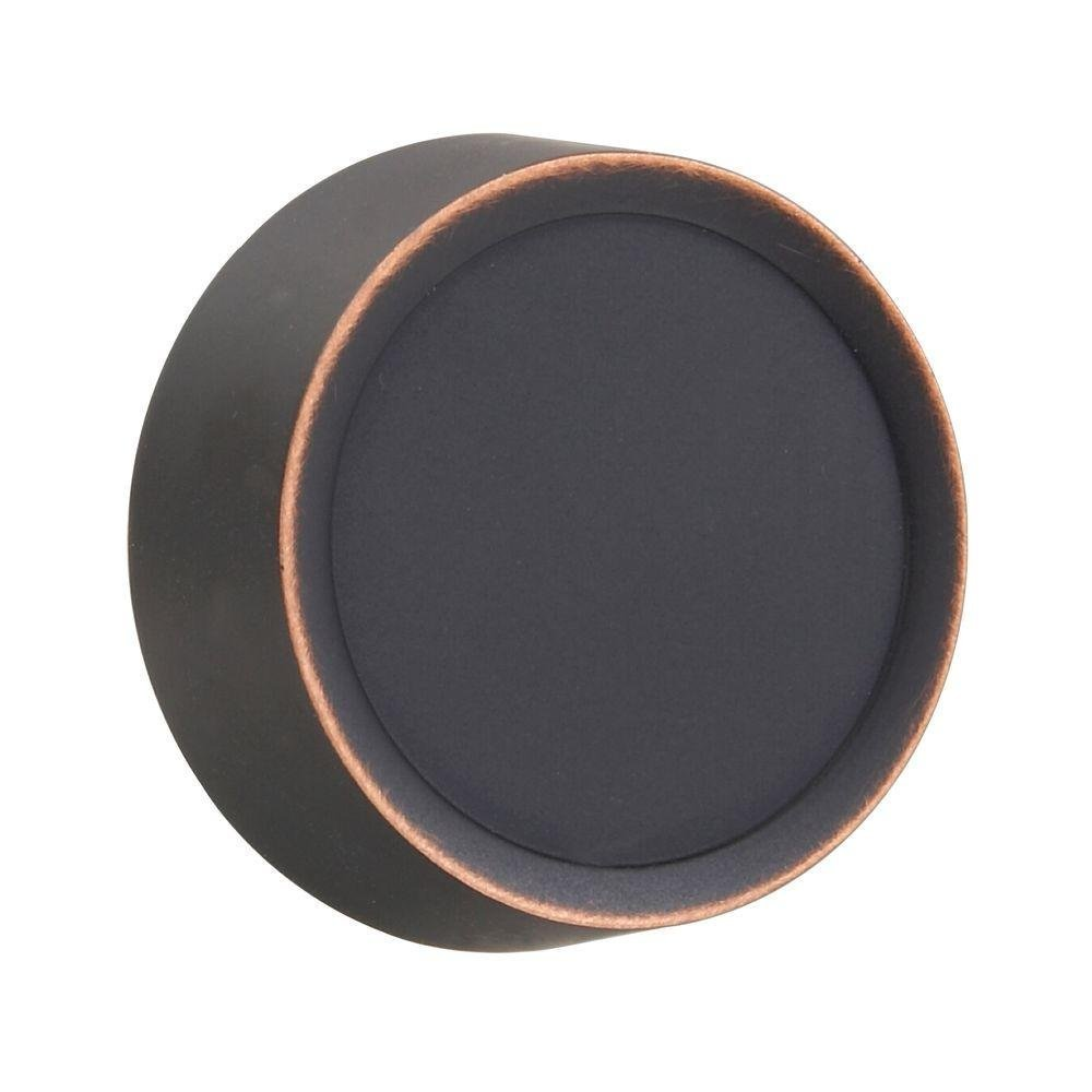 Dimmer Knob Wall Plate - Aged Bronze -