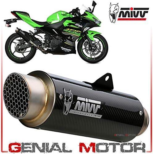 K 047 L2p Auspuff Exhaust Mivv Gp Pro Carbon Kat Fur Kawasaki Ninja 400 2018 2020 Auto