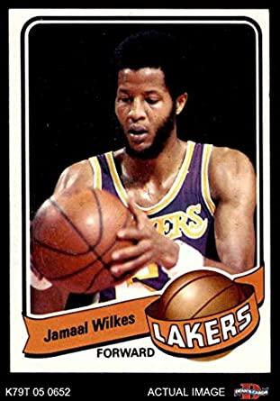 066e8dd995e 1979 Topps   35 Jamaal Wilkes Los Angeles Lakers (Basketball Card) Dean s  Cards 6