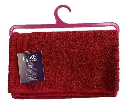 I LIKE asciugamani con gruccia Bidet (30 x 50 cm) beige