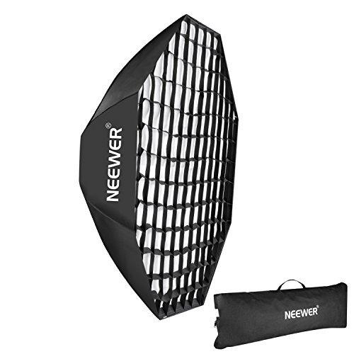 Neewer 55''/140cm Beehive Octagon Umbrella Speedlite Softbox for Nikon, Canon, Sony, Pentax, Olympus, Panasonic Lumix Flash Light, with Bowens Mount by Neewer