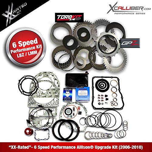 XCALLIBER (29545312-XX) - Performance Rebuild Kit w/GPZ for DURAMAX/GM, 6  Speed ALLISON 1000 Series Transmissions - LBZ/LMM