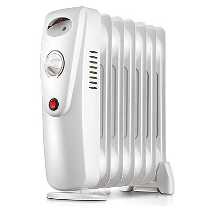 Heater YAN SYF Calefactor Eléctrico Portátil Torre Radiador 800W 7 Aletas - Temperatura Ajustable A++