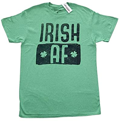 St Paddy's Day Irish AF Adult Sized T-shirt