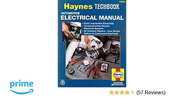 Automotive electrical manual haynes repair manuals haynes automotive electrical manual haynes repair manuals haynes 9781850106548 amazon books fandeluxe Images