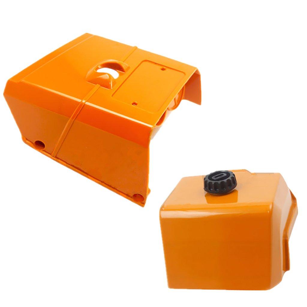 Gazechimp Couvercle de Filtre à Air pour STIHL MS440 044 Tronçonneuse# 1128 140 1003