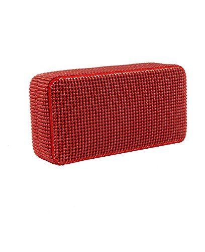 Whiting & Davis Red Bubble Box Minaudiere