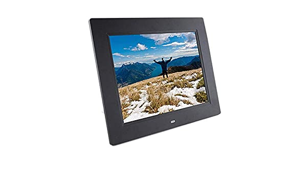 9.7 Inch 1024x768 IPS Resolution Screen with Multi-Function Remote Control Support Photo//Music//Video Player Calendar Alarm Auto On//Off Mengen88 Digital Photo Frame