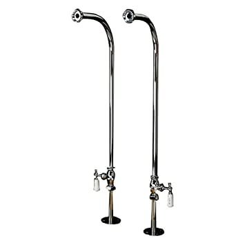 Barclay 4502 Pl Cp Freestanding Bath Supply Tub Filler Faucets