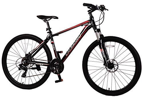 - Navi RS100 Hardtail Mountain Bike, Aluminum Alloy Frame, Shimano Disc Brakes, Shimano Crank Set, Shimano Tourney 21-speed, 27.5