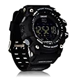 KeyRole Outdoor Waterproof Fitness Smart Watch for Men Smartphones (Black)