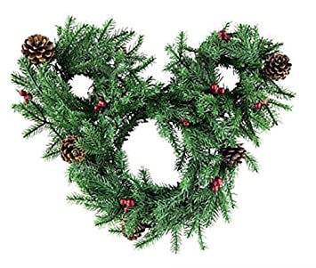 disney mickey mouse icon light up holiday wreath - Mickey Mouse Christmas Wreath