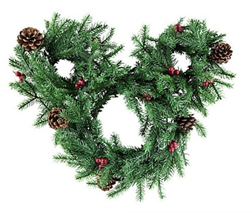 Disney Mickey Light Up Holiday Wreath product image