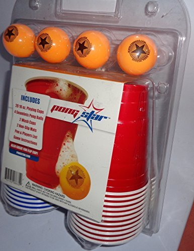 Pong Star Beer Cup Kit ()