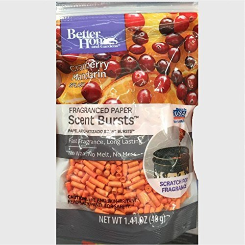 Better Homes and Gardens Scent Bursts Cranberry Mandarin Splash 1.41 OZ from Better Homes & Gardens
