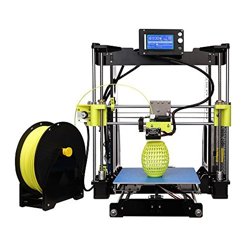 KKmoon High Precision Desktop 3D Printer Kit Reprap Prusa i3 DIY Self Assembly 12864 LCD Screen Acrylic Frame Printing KKmoon