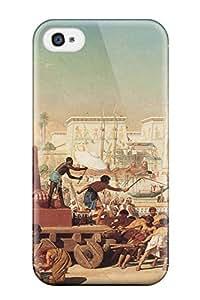 Egyptian Durable Iphone 4/4s Tpu Flexible Soft Case 3835399K18875527