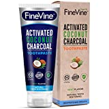 #1: Activated Charcoal Teeth Whitening Toothpaste - Made in USA - REMOVES BAD BREATH and TOOTH STAINS - Best Natural Toothpaste for Herbal Decay Treatment - Mint flavor. (Toothpaste)