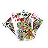 Pisa Milan Cathedral Italy Graffiti Poker Playing Card Tabletop Board Game Gift
