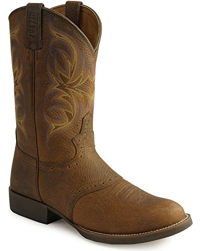 """Justin Boots Men's Stampede Collection 11"""" Cattleman Boot Lo"""