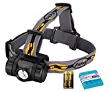 Bundle- 2 items: Fenix HL35 450 Lumen Cree XP-G2 LED Headlamp with 2x AA batteries and LumenTac Battery Organizer