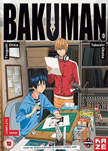 bakuman season 1 dvd amazon co uk dvd blu ray bakuman season 1 dvd amazon co uk